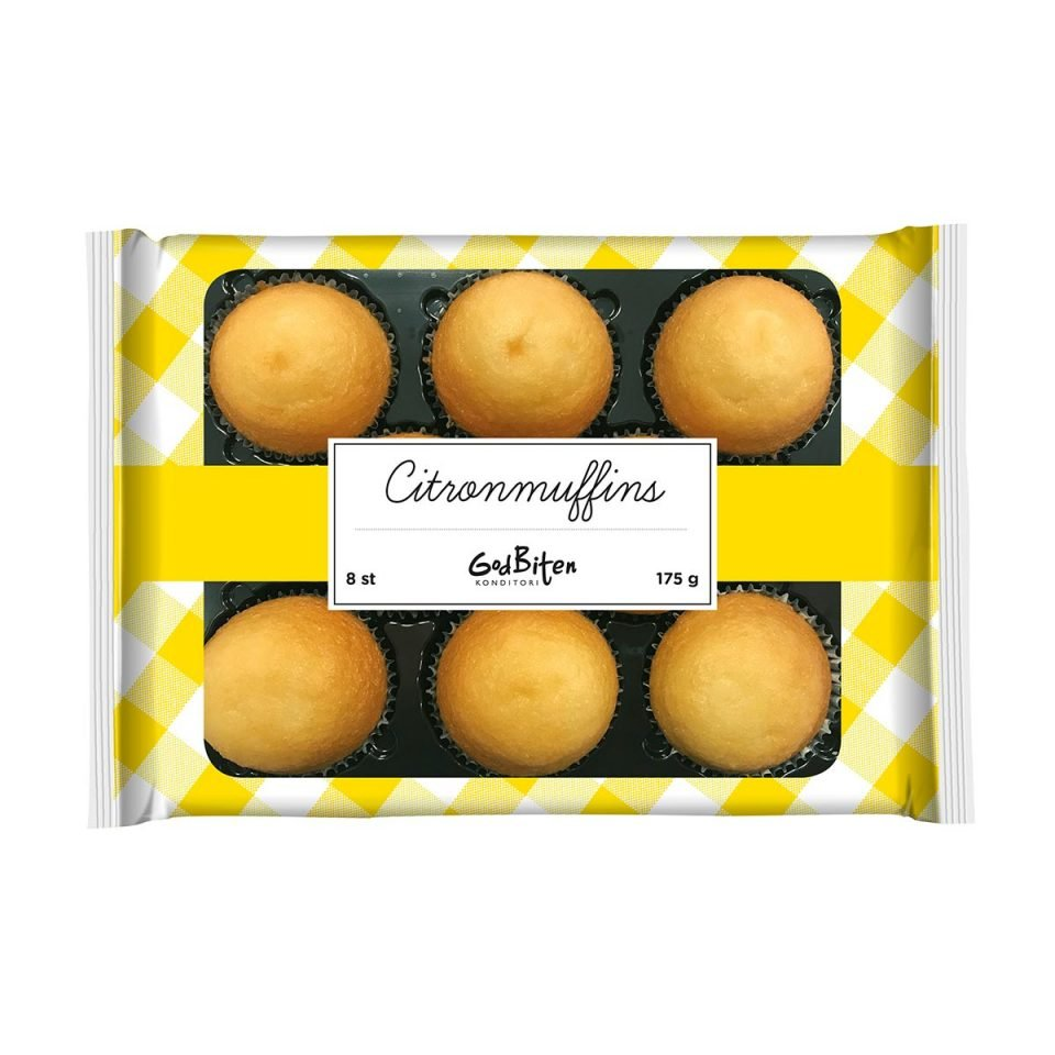 Godbiten-Citronmuffins